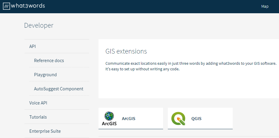 GIS extensions